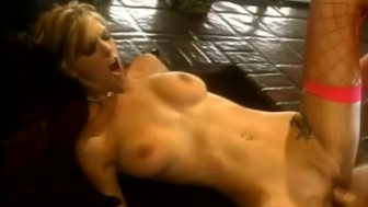 Stockinged Brooke Banner Fucked and Jizzed On