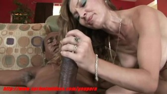 Milf having interracial sex at home
