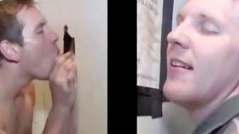 Straight guy deceived at the gloryhole