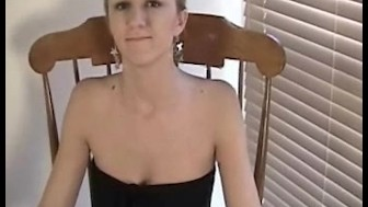 Lovely Jacklynn shows how to fingerfuck