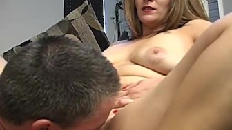 Cute chubby chick loves to suck dick