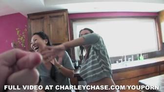 Asa Akira Butt Plugs Charley Chase