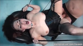 HarmonyVision Two hot babes sharing cock