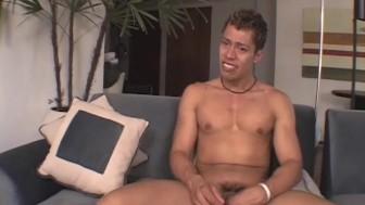 Nude Latino Boy Jerking Off