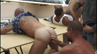 Nasty Workers Orgy