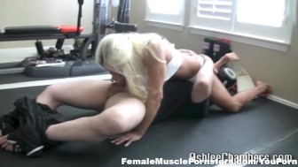 Ashlee Chambers in Tap Out Blow Job