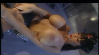 Busty babe turning herself on - Bizarre