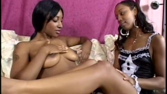 Black chicks roleplaying and eating pussy - Anarchy