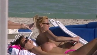 Hot Naked Girls on South Florida Beaches