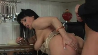 Busty MILF fucked by her step-son - Wives Tales Productions
