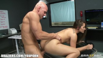 Teen Dani Daniels is admired and fucked by her plastic surgeon