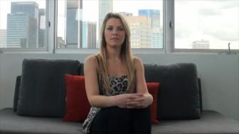 CastingCouchX Blonde snowboarder does porn