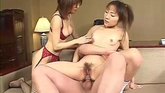 Emi Takanashi asian lesbian action and fucking