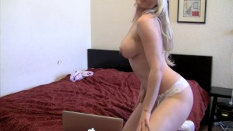 Sexy Nurse On Her Laptop - Lucullian Content