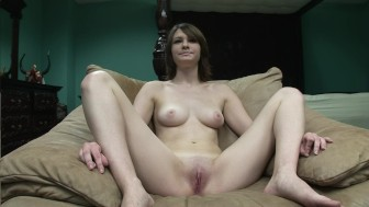Cute Brunette Gets Interviewed - DreamGirls