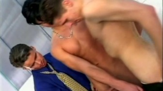 Three Hot Gents Cock Sucking