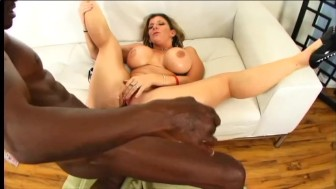 Thick Hottie Gets Oiled Up And Fucked Proper - Black Market