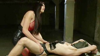 Dominated by a Sexy Transsexual Dom