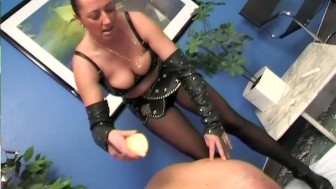 Hot wax play with the MILF - SMALL TALK