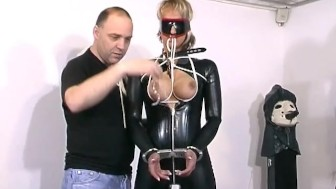 MILF Gets Tied And Blind-Folded - Absurdum Productions