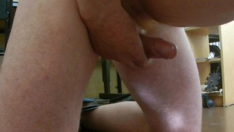 Orgasm - Kneeling - Feeling - Ejaculating