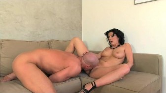 FemaleAgent. Very horny and orgasms heavy casting.