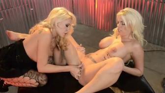 Britney Amber Backstage Lesbians