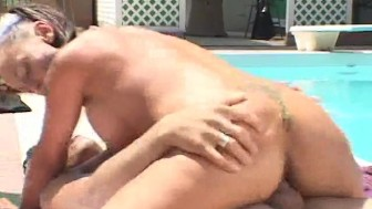 He couldn't resist the pool cleaning lady - Dane