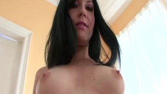 Busty Brunette Shows You Her Pussy - FBA