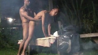 Hard Cock By The Camp Fire - Rock Hard Entertainment