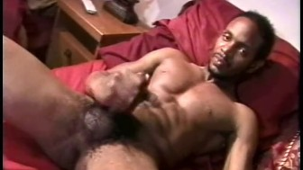 Black guys playing with their cocks - Encore Video