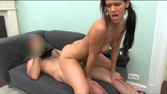 FakeAgent Sexy Spanish amateur fucks in casting