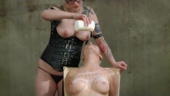 BElla Vendetta's BDSM Birthday Present, part 2