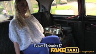 FakeTaxi Hot blonde with tits to die for