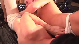 Chris and Don A Foot Quickie - Factory Video Productions