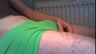 Webcam Boy Jerking His Nice Cock