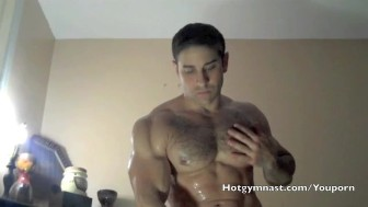 Fuck my str8 Muscle Ass