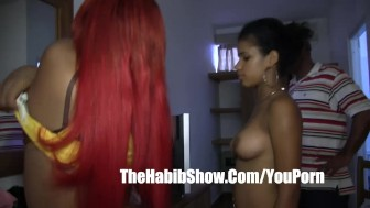 Dominican red phat booty lesbain love affair