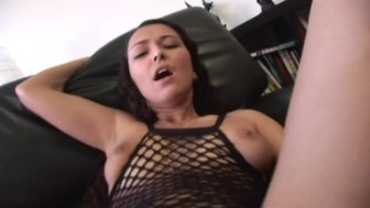 her first anal fist