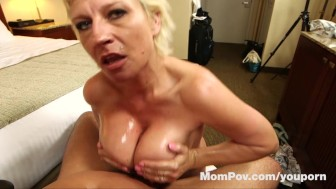 Slutty MILF with big tits