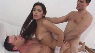Oyeloca DP anal pussy fucking a hot ass latina