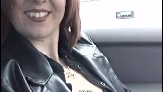 Nervous amateur flashes in a busy carpark