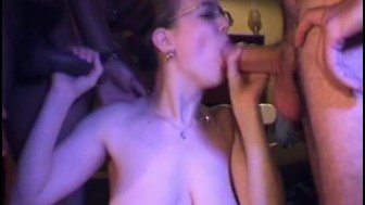 Trinity bukkake 19 year old with older men