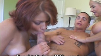 Redheaded Teen Seduced By Older Couple