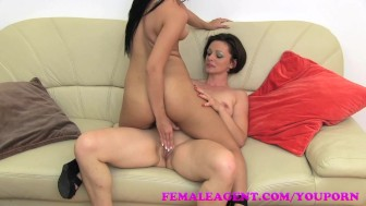 FemaleAgent Tiny, sexy nymphomaniac in orgasm heaven