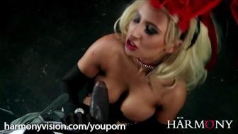 Cabaret Showgirl gets fucked by a huge black cock