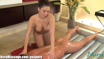 NuruMassage Big Titty Asian Massage