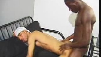 Black Men Bareback Action