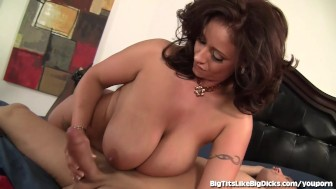 Busty Babe Eva Notty Loves Big Cocks