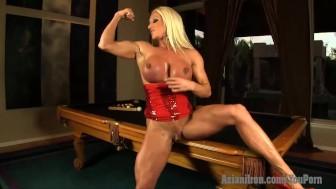 Aziani Iron Ashlee Chambers naked fitness MILF